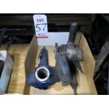 LOT - (2) PNEUMATIC ANGLE GRINDERS
