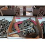 LOT - MISC C CLAMPS