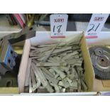 LOT - STAINLESS STEEL ENGINEERS' RULERS