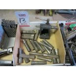 LOT - ASSORTED R8 COLLETS, TAIL STOCK