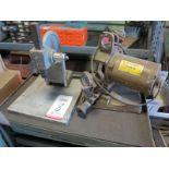 LOT - NO. 1 ARBOR PRESS AND DAREX DRILL SHARPENER, MODEL M2
