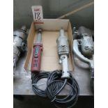 LOT - (2) ELECTRIC DIE GRINDERS