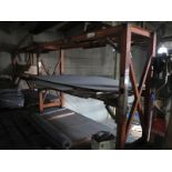 """LOT - (2) SECTIONS PALLET RACK, WELDED TOGETHER, 21' X 38"""" X 8'"""