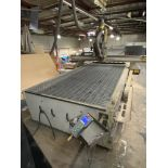 """2011 MULTICAM 3000 SERIES CNC ROUTER, 60""""X122"""", POSITION RACK TYPE TOOL CHANGER, S/N 3-204-R-PF08407"""