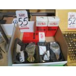 """LOT - (5) NEW IN BOX SHARS 0-1"""" DIAL INDICATORS, .001"""" ACCURACY"""