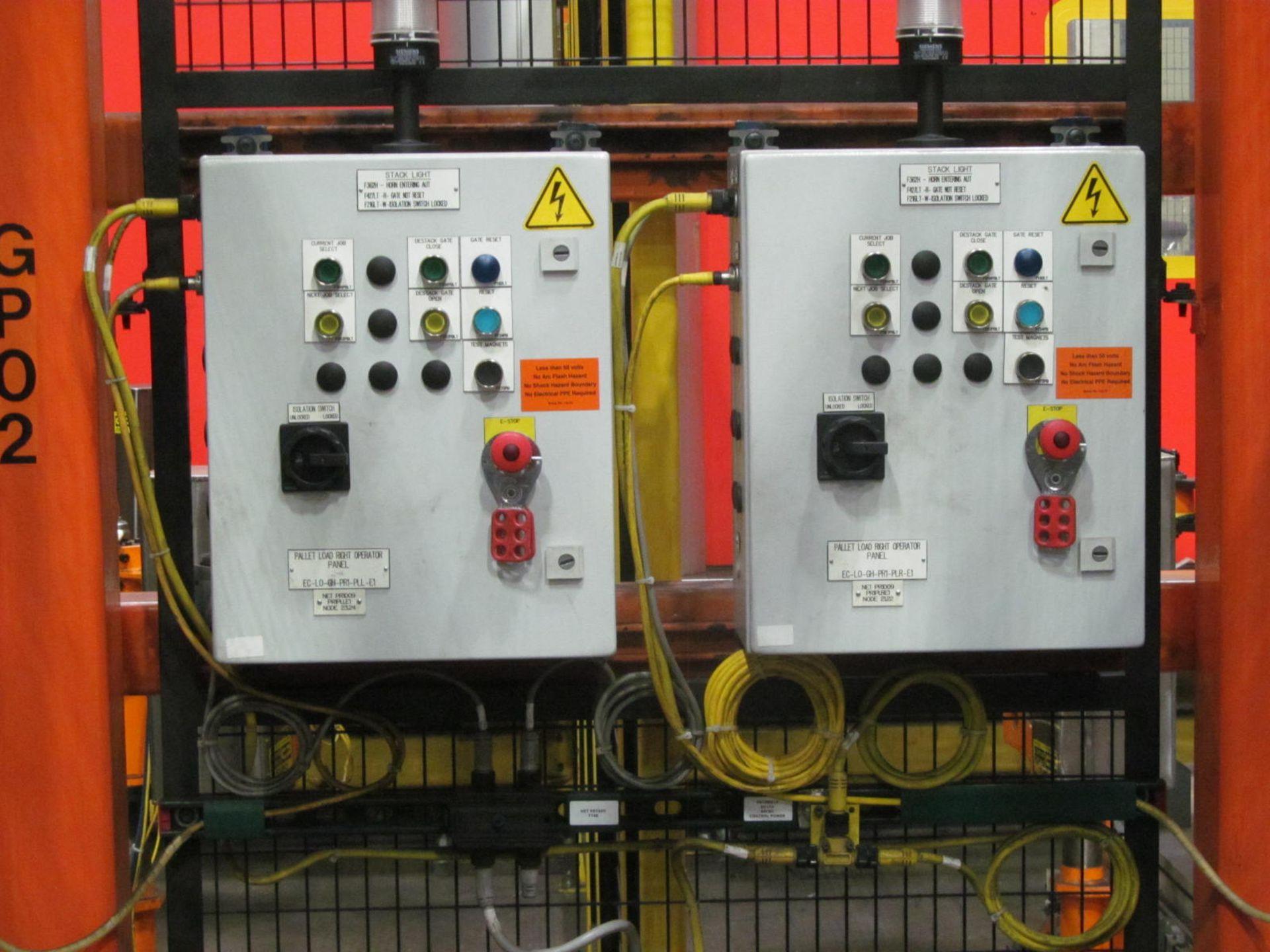 Lot 6 - BLANK LOADING STATION INCLUDING; 7-AXIS FANUC 2000iB 100P ROBOT w/ R-30iA CONTROL & TEACH PAD