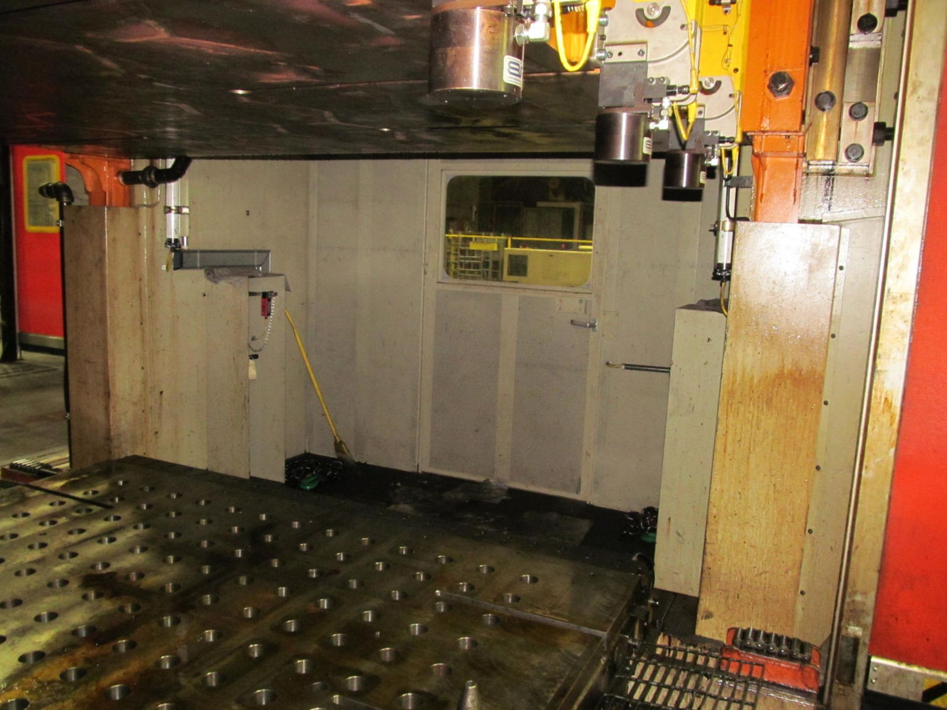 Lot 1 - FAGOR LE4-1500-4000-2500 LINK DRIVE STRAIGHT SIDE PRESS, S/N 21111 (2011), 2250 TON CAPACITY