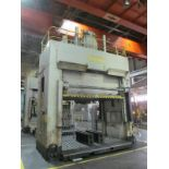 """VERSON D2-50-132-84-DS HYDRAULIC SPOTTING PRESS S/N 22062, 50 TON CAPACITY, 132"""" X 84"""" BED, 48"""""""