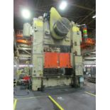 """VERSON SE4-1000-108-72 STRAIGHT SIDE PRESS, S/N 24683, 1000 TON CAPACITY, 108"""" X 72"""" BED, 12"""""""