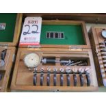 "DIATEST SPLIT BALL DIAL BORE GAGE SET, .380"" TO .830"""