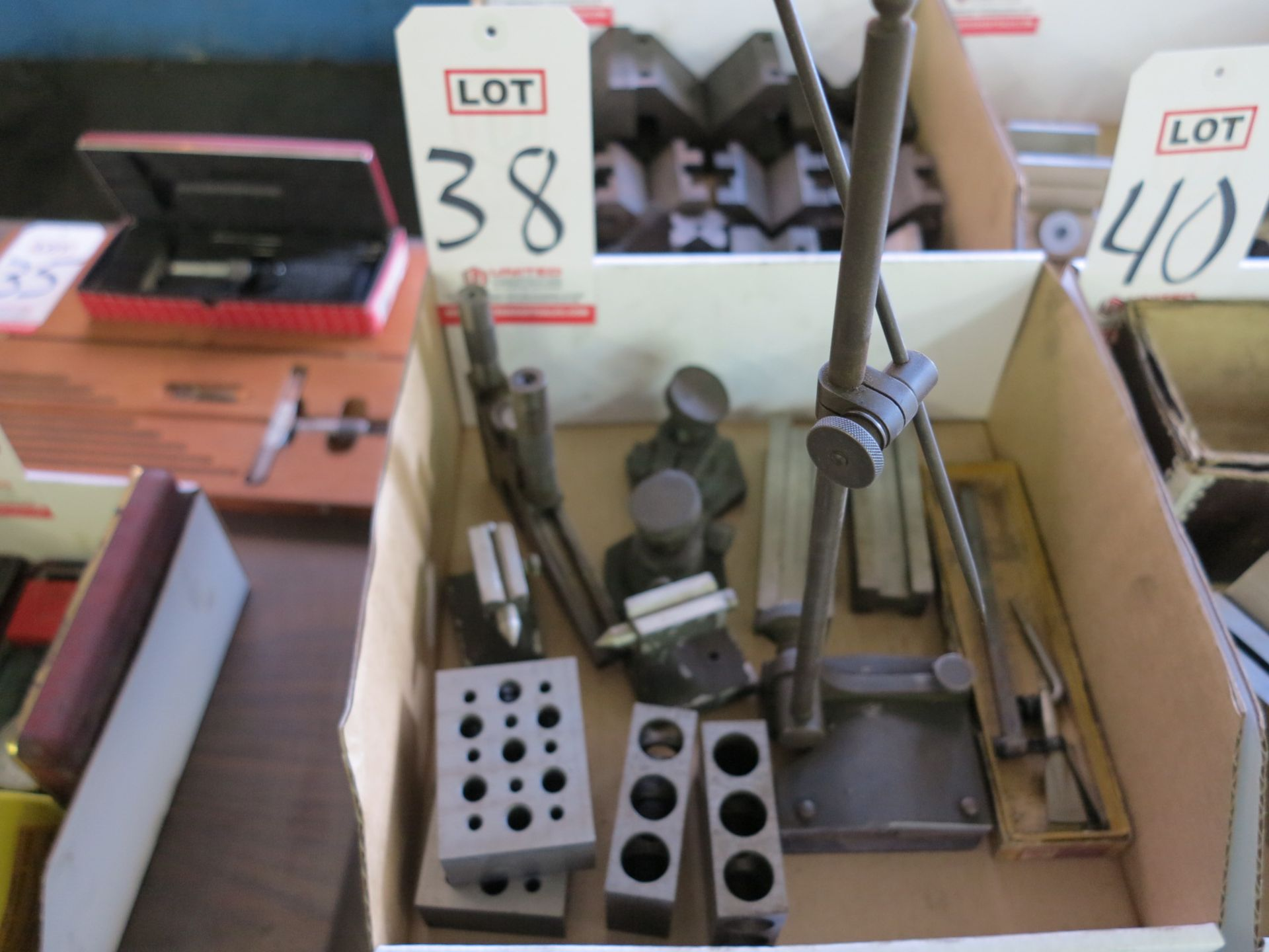 Lot 38 - LOT - 1-2-3 BLOCKS AND OTHER MISC INSPECTION ITEMS