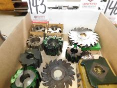 LOT - MILLING CUTTERS/SLOTTERS AND RELATED ITEMS
