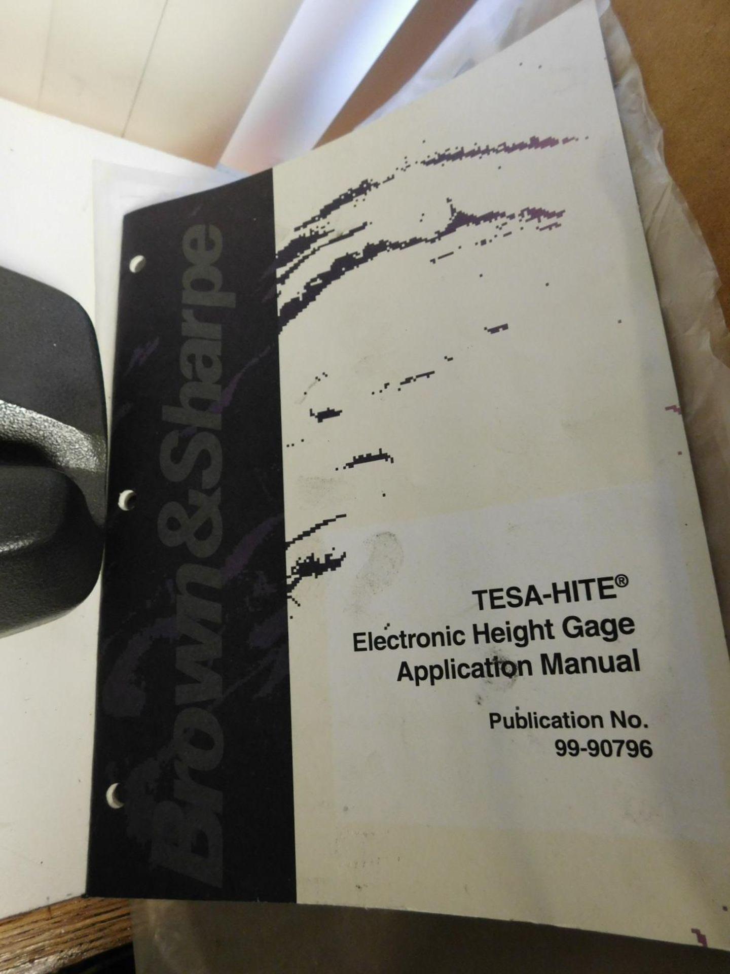 "Lot 33 - TESA-HITE ELECTRONIC HEIGHT GAGE, 14"""