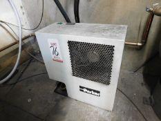 PARKER REFRIGERATED AIR DRYER, PART NO. ASD50-115160, W/N 398229980003, W/ (2) DOMNICK HUNTER OIL-