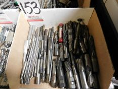 LOT - REAMERS, END MILLS, ETC.