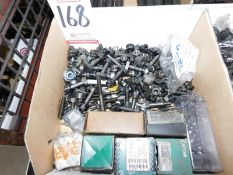 LOT - T BOLTS & NUTS AND MISC FASTENERS