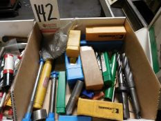 LOT - END MILLS AND RELATED CUTTING TOOLS