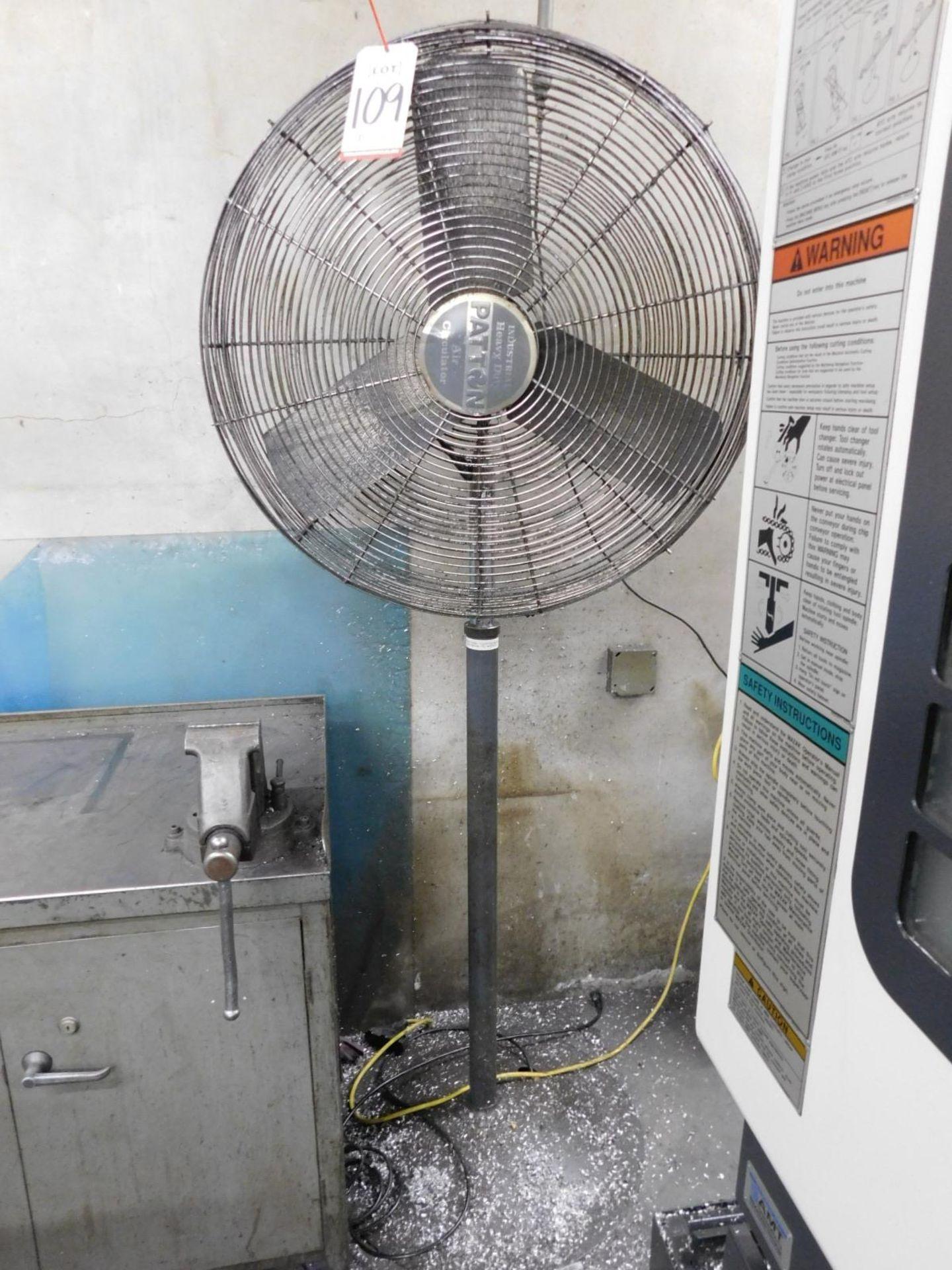 "PATTON 30"" INDUSTRIAL AIR CIRCULATOR PEDESTAL FAN - Image 2 of 2"