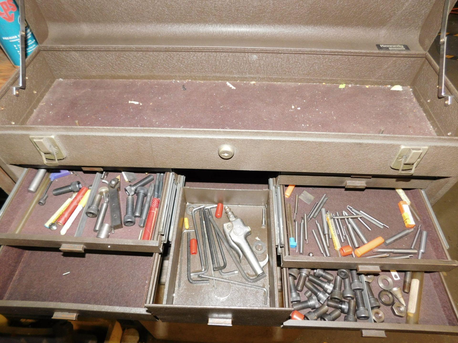 KENNEDY TOOL BOX, STYLE NO. 52611-627438, EMPTY, NEEDS NEW LOCK - Image 3 of 5