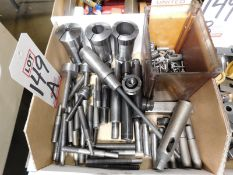LOT - 16C COLLETS, MISC TOOL HOLDERS AND RELATED ITEMS