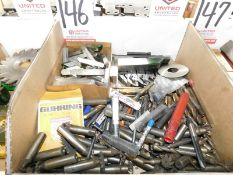LOT - MISC CUTTERS, INSERT TOOL HOLDERS, ETC.