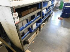 """LOT - (3) 3' X 2' X 43"""" SHELF UNITS, CONTENTS NOT INCLUDED"""