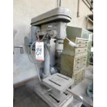 """NATIONAL INDUSTRIAL 10"""" 5-SPEED DRILL PRESS, OUT OF SERVICE, BENCHTOP MODEL, MODEL DPM445"""