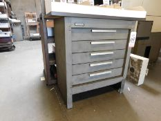 KENNEDY 5-DRAWER TOOL CABINET, EMPTY