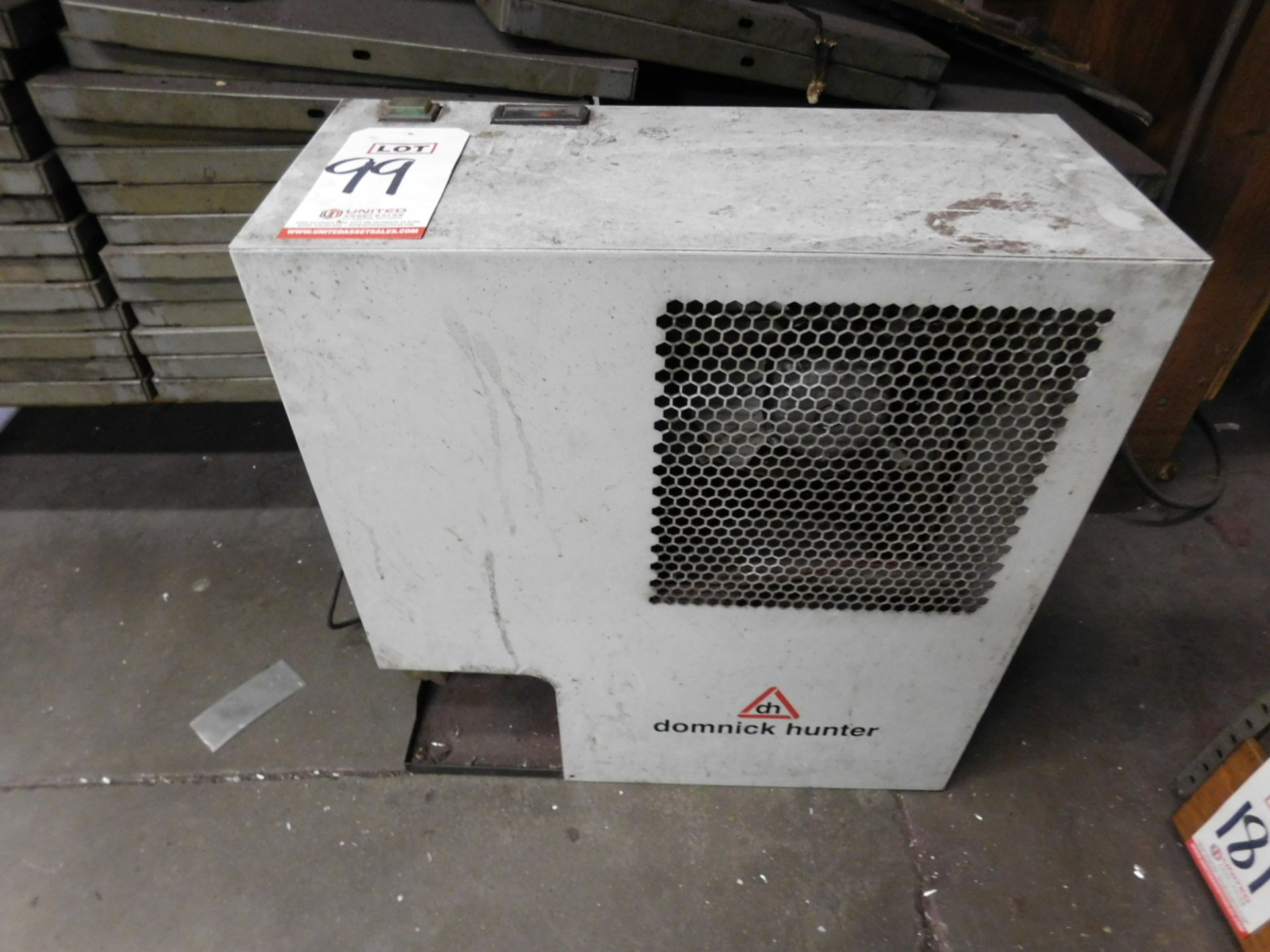 DOMNICK HUNTER DRD50 REFRIGERATED AIR DRYER, OUT OF SERVICE