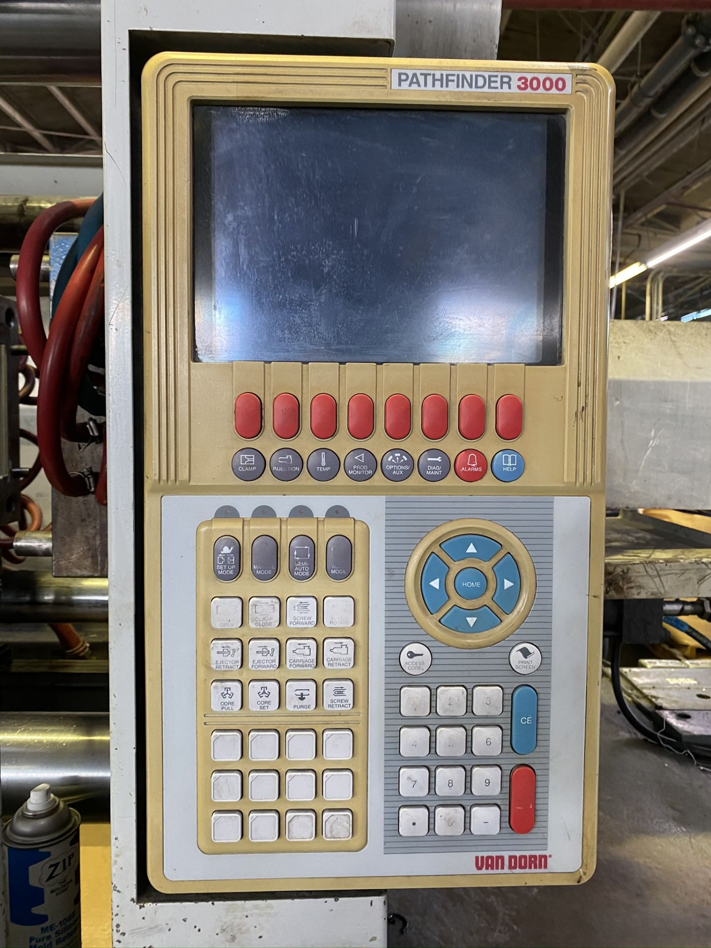 Lot 16 - 1999 VAN DORN 300 TON, MODEL 300HT1220-3149, PATHFINDER 3000 CONTROL, 25.4 OZ SHOT SIZE