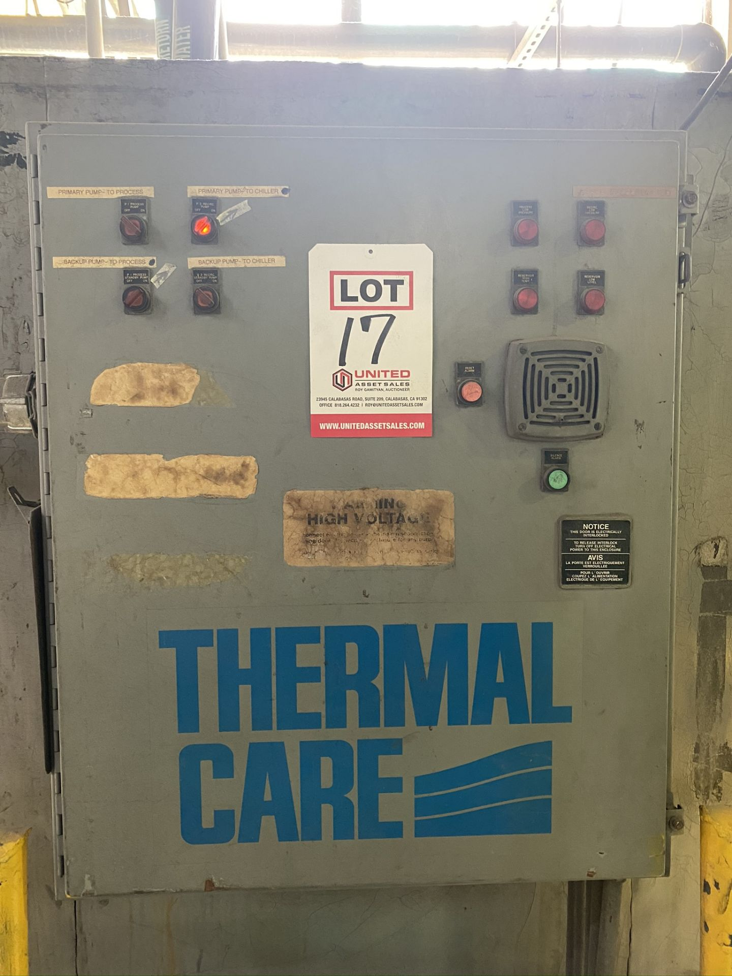 Lot 17 - THERMAL CARE CHILLER