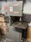 POWERMATIC MODEL 87 VERTICAL BAND SAW, S/N 66-6816, W/ BLADE WELDER