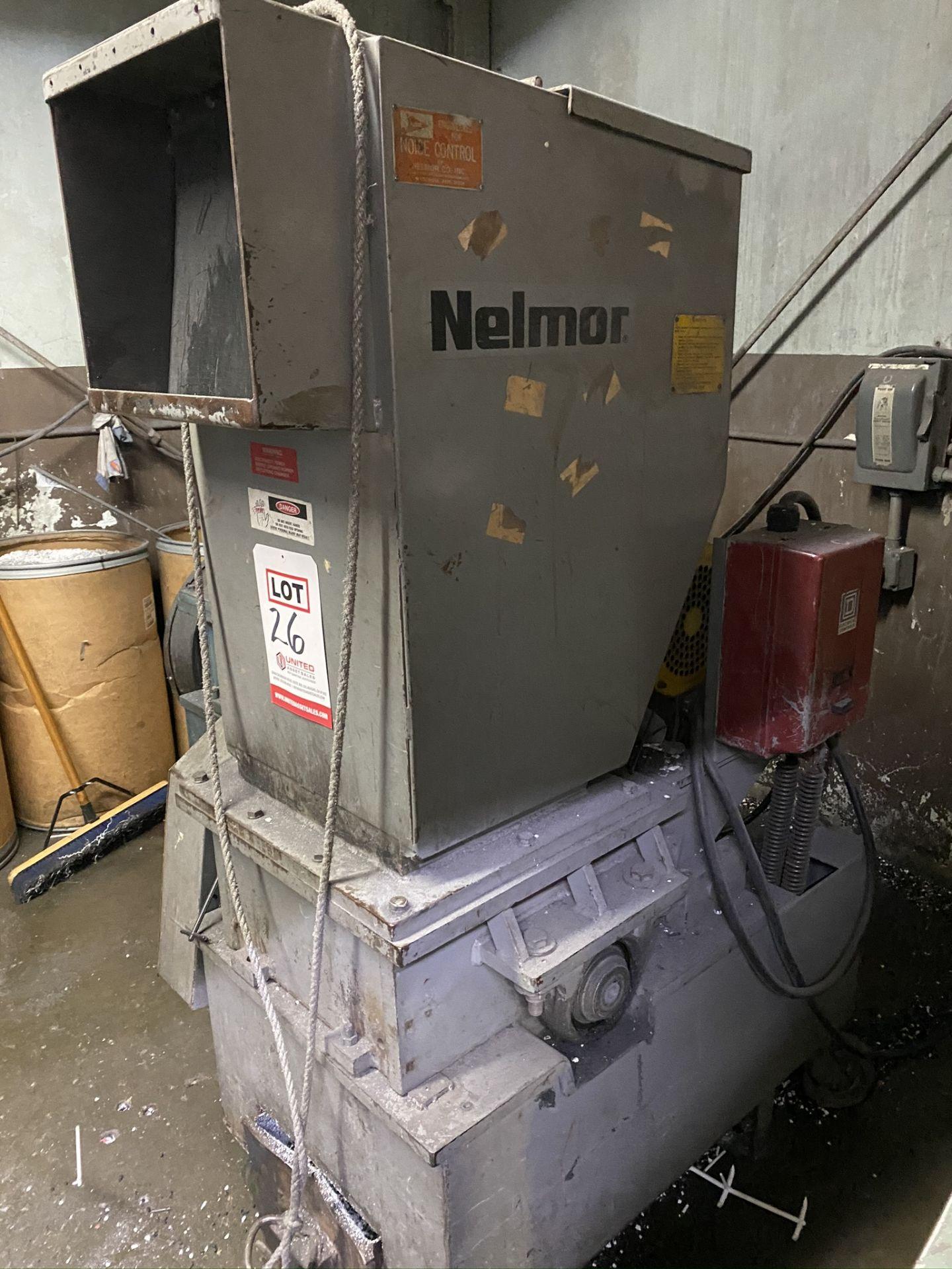 Lot 26 - NELMOR 10 HP GRANULATOR