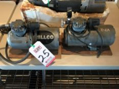 LOT - (2) DRILLCO PUMPS, 1/6 HP