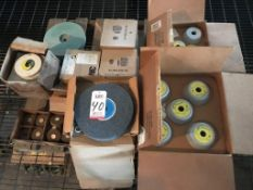 LOT - ASSORTED GRINDING WHEELS, CUPS AND DISC