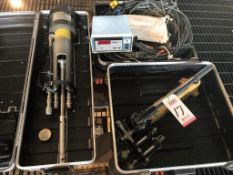 LOT - LES ENGINEERING, P/N 73-01-01, PRELOAD VERIFICATION TOOL, MAX 4000 PSI, W/ ENERPAC MODEL P-392