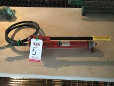 BLACKHAWK, MODEL 65420, HYDRAULIC HAND PUMP UNIT