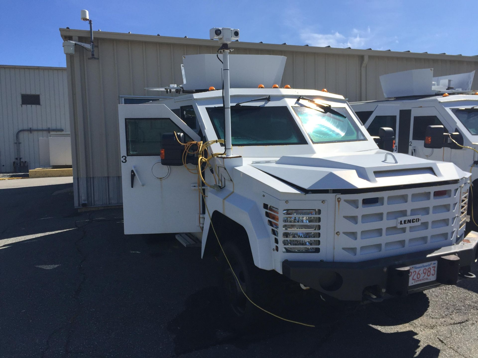 Lot 1A - 2011 LENCO G3 BEARCAT ARMORED VEHICLE: VIN: 1FDAF5HT9BEB66873, FORD DRWSUP F550, 6.7L DIESEL