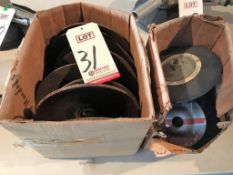 LOT - ASSORTED GRINDING WHEELS