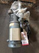 GAST, MODEL 2067-101 PUMP W/ 1 1/2 HP MOTOR, 115 VOLT