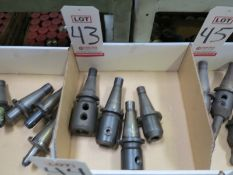 LOT - (4) #40 NMTB QUICK CHANGE TOOL HOLDERS
