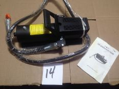 AIR OPERATED HYDRAULIC PUMP (NEW)
