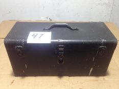 LOT - TOOL BOX, W/ CONTENTS