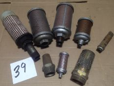 LOT - AIR EXHAUST MUFFLERS, ALWITCO, ATO