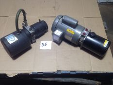 LOT - (2) PARKER HYDRAULIC POWER UNITS