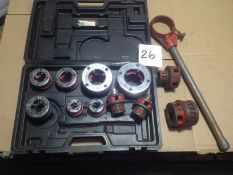 LOT - PIPE TAPING SET, NPT
