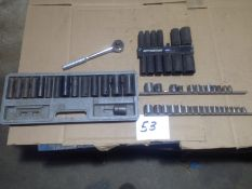 SOCKET SETS: SAE, METRIC 3/8 DRIVE / DEEP SOCKET SETS 1/2 DRIVE