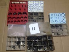 LOT - ASSORTMENT OF O-RING SEAL KITS