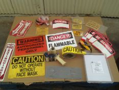 LOT - LABELS, STENCIL KIT, TAPE GUN