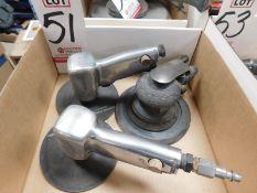 LOT - (2) INGERSOLL-RAND AIR SANDERS, MODEL 214J AND (1) INGERSOLL-RAND AIR SANDER, MODEL 415I